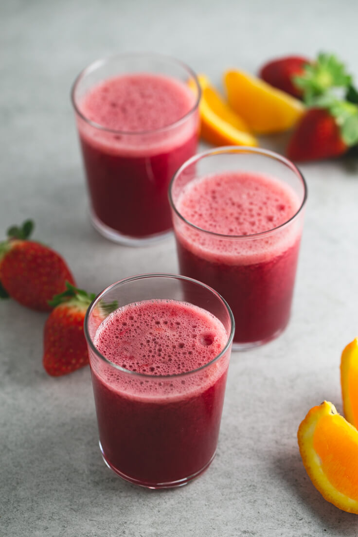 Juice for Valentine's Day: There is no better way to celebrate Valentine's Day than with a juice loaded with vitamins and nutrients to pamper our body and that of our loved ones.