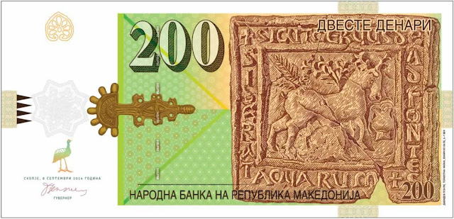 Macedonia's National Bank Releases Banknotes of MKD 200 and MKD 2,000