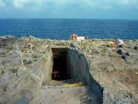 Ingresso grotta marina