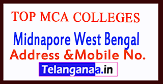 Top MCA Colleges in Midnapore West Bengal