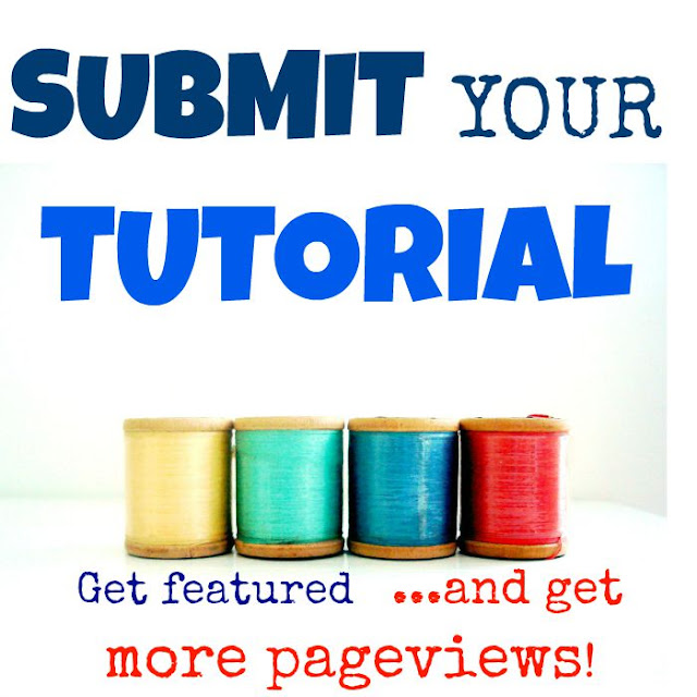 Submit your tutorial to get more pageviews! Be featured on my blog: it's a great way to promote your blog and increase traffic.