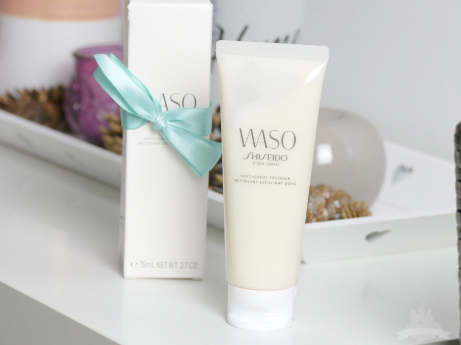 Shiseido Waso Soft Cushy Polisher Review