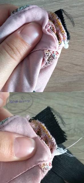 Jak dopasować spodnie w pasie DIY - Adzik tworzy
