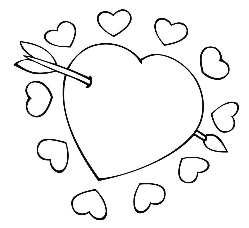Herz Vorlage Zum Malen