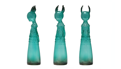 San Diego Comic-Con 2019 Exclusive Changeling Leaf Clear Teal Edition Vinyl Figure by Amy Sol x Munky King