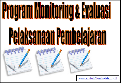 Program Monitoring evaluasi  Pelaksanaan Pembelajaran - File Sekolah