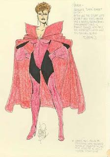 John Byrne's original 'dark' Scarlet Witch sketch