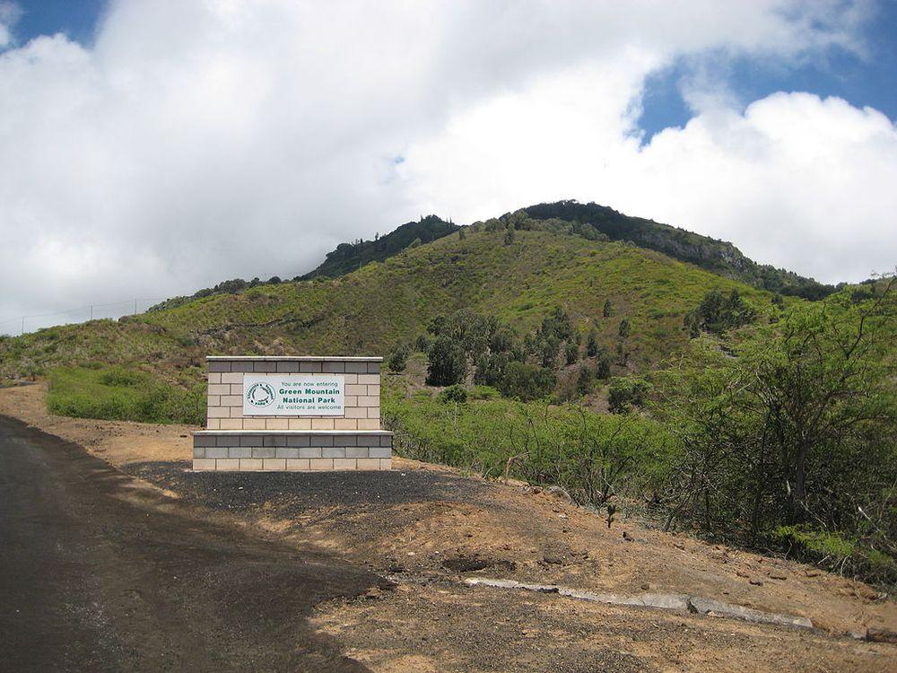 Green Mountain, Ascension Island