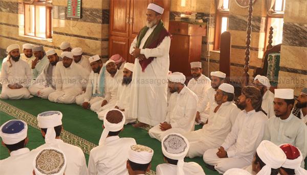 Kasargod, News, Kerala, Meet, Held, Prayer meet, Khasi C M Abdulla Moulavi, prayer meet held in Kasaragod