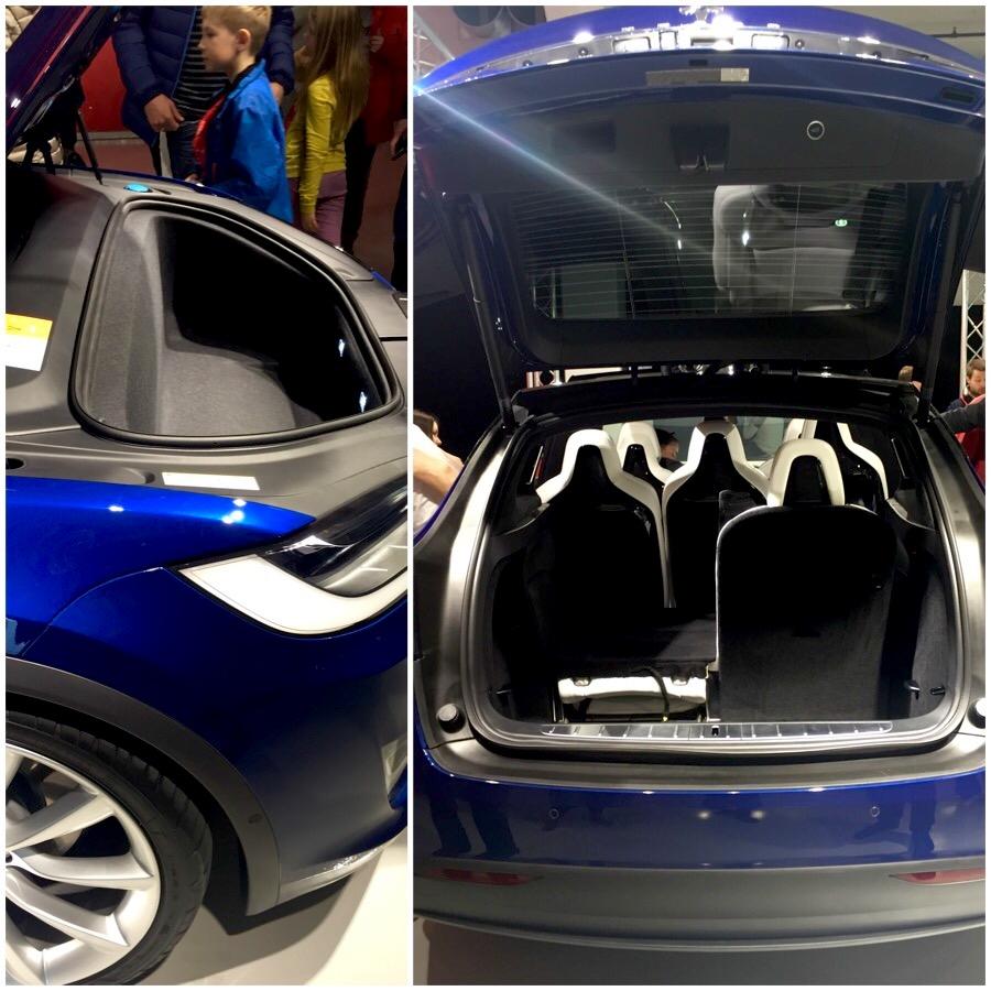 Tesla Model X Norway Storage In Model X