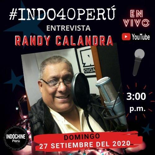 #INDO40PERU - Entrevista a Randy Calandra