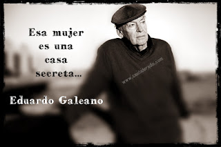 Frase del cuento Ventana sobre una mujer I de Eduardo Galeano