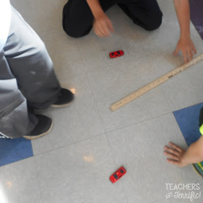 STEM: It seemed like such a great idea to have the kids test Newton's Laws of Motion buusing these meter sticks as the thrust on the little cars! Read this blog post to find out what happened!