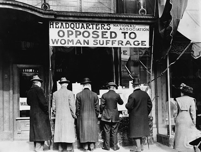 Headquarters of the National Association Opposed to Woman Suffrage in New York City