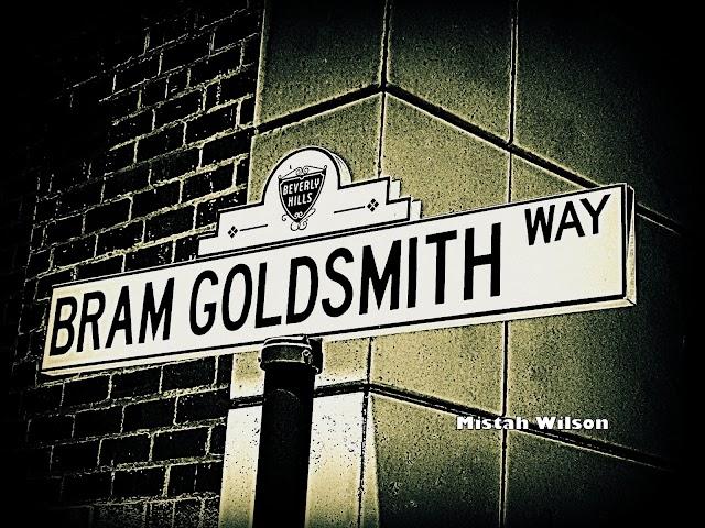 Bram Goldsmith Way, Beverly Hills, California by Mistah Wilson