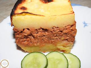 Musaca de cartofi cu carne tocata reteta,