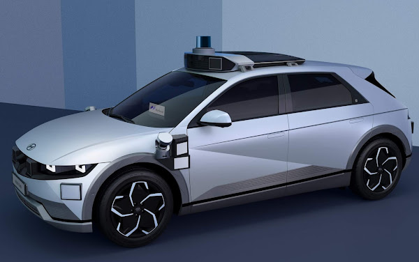 Hyundai apresenta o IONIQ-5 Robotaxi autônomo e elétrico
