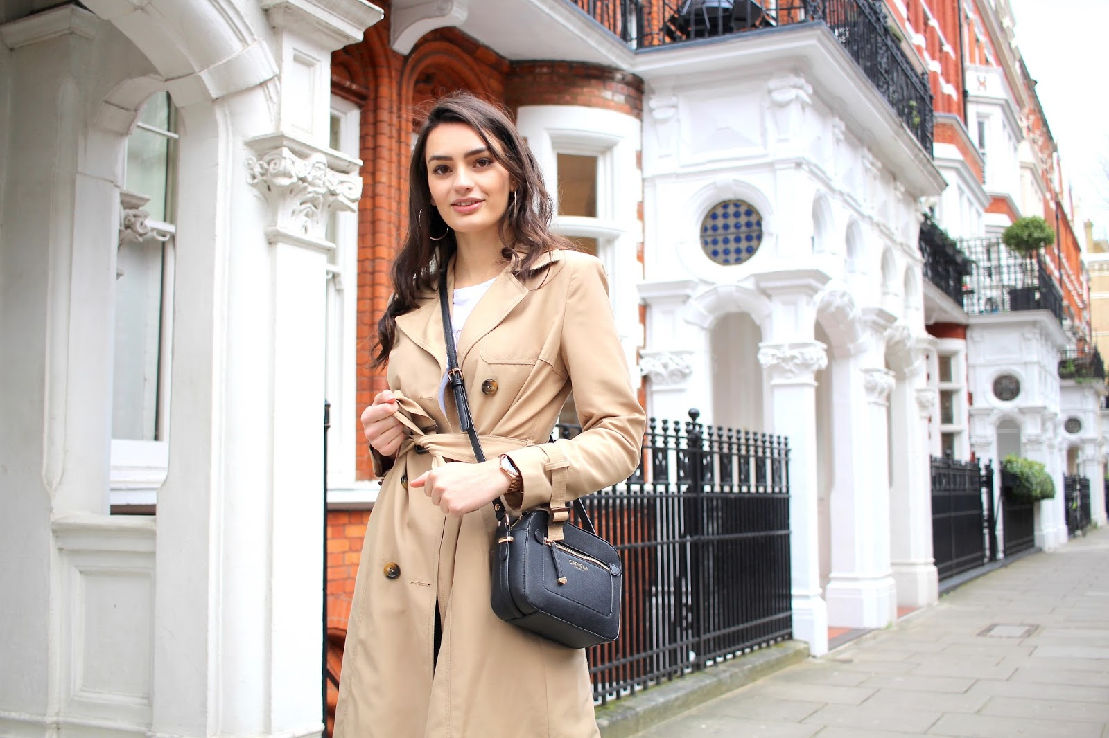 trench coat style peexo winter transition