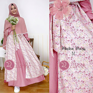 Gamis Zizara Maika Dress B6