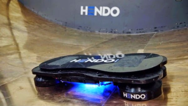 VIDEO: Skateboard champ Tony Hawk test-rides world's first real hoverboard