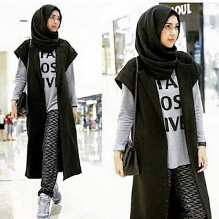 LONG vest Outer murah