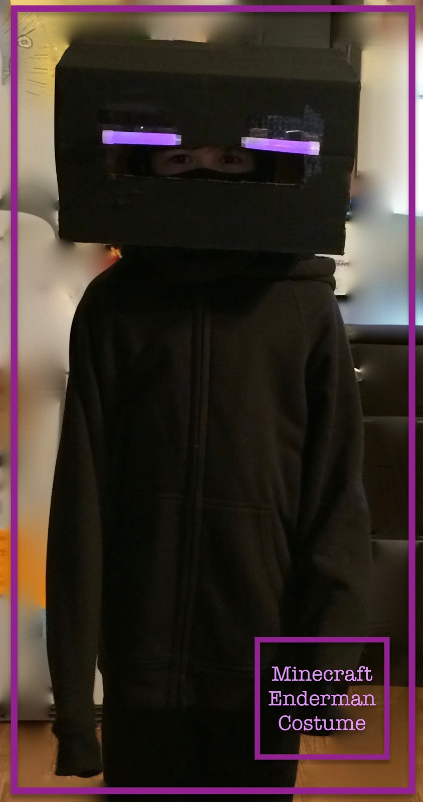 Home Cooked Handmade Minecraft Enderman Costume