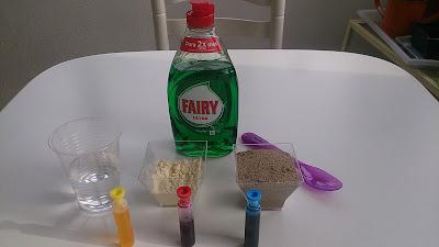 ingredientes para hacer plastilina kinética casera