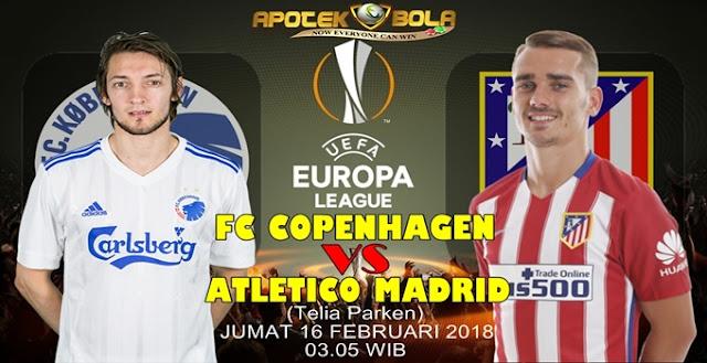 Prediksi Copenhagen vs Atletico Madrid 16 Februari 2018
