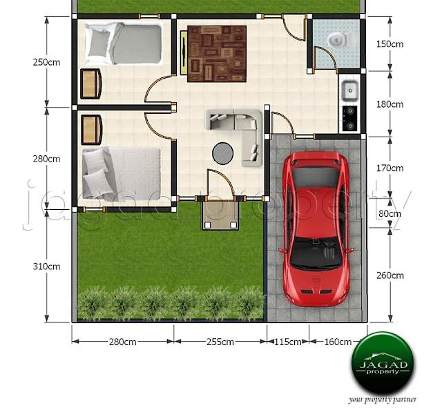 Rumah Baru Minimalis Griya Pajangan