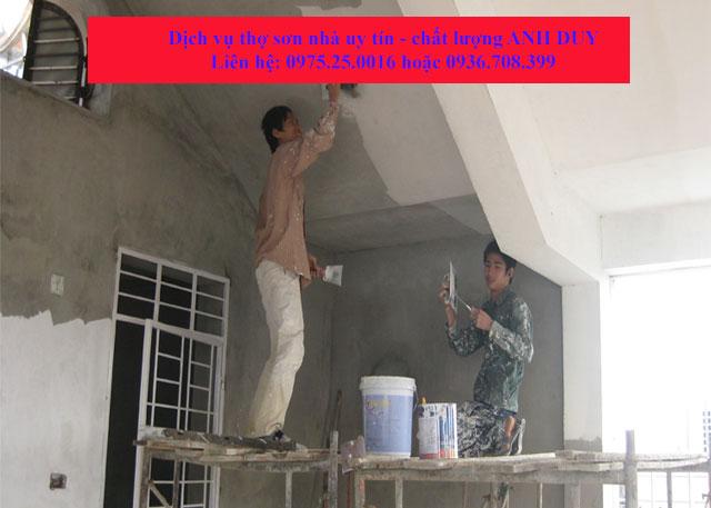 Dịch vụ sơn bả tường, sơn bả matit tại Hải Phòng, chúng tôi luôn làm các bạn hài lòng về các dịch vụ của chúng tôi