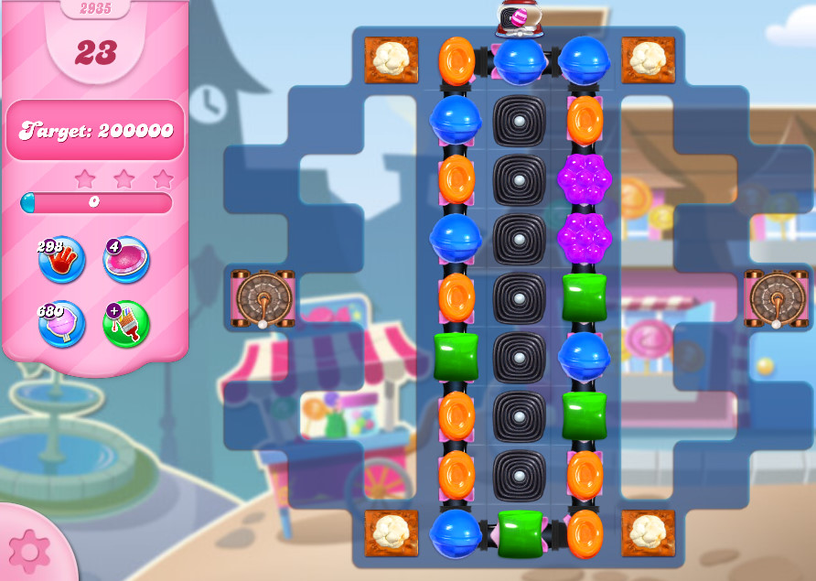 Candy Crush Saga level 2935