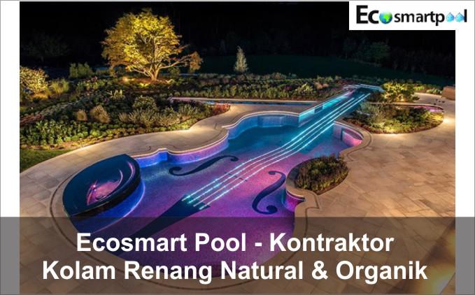 ecosmart pool jasa kolam renang natural organik