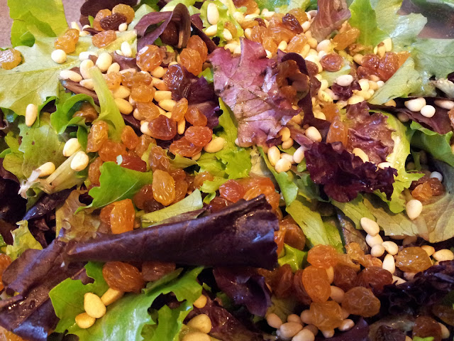 Italian Pine Nut Salad. Quick and Easy to Make