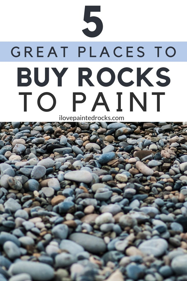A beginners guide to painted rocks: where to find rocks to paint. Because before you can get started painting rocks, you need to know where to get rocks that you can paint!