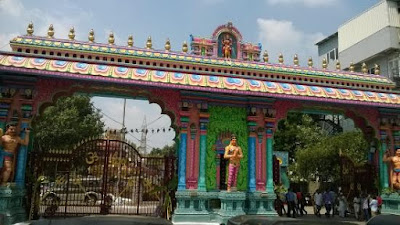 Peddamma Temple in Hyderabad District in Telangana