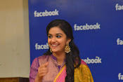 keerthi suresh at facebook office-thumbnail-3