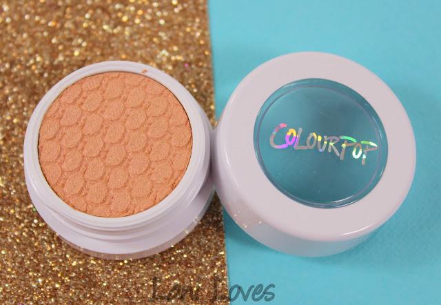 ColourPop Super Shock Shadow - By My Side Swatches & Review