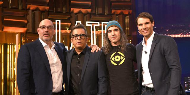 Emilio Gayo, Chema Alonso, Rafa Nadal y Andreu Buenafuente presentanMovistar Home imagen