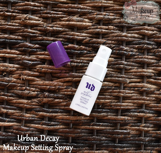 Urban Decay All Nighter Long-Lasting Makeup Setting Spray Review Travel Size