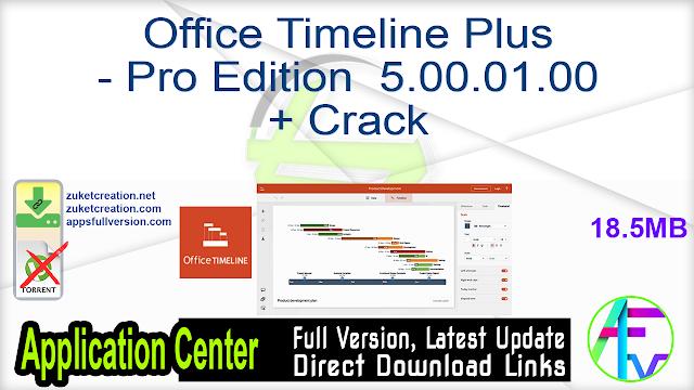 Office Timeline Plus – Pro Edition 5.00.01.00 + Crack