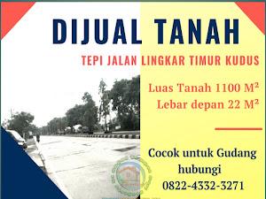 Dijual Tanah Tepi Jalan Lingkar Timur Kudus-pati