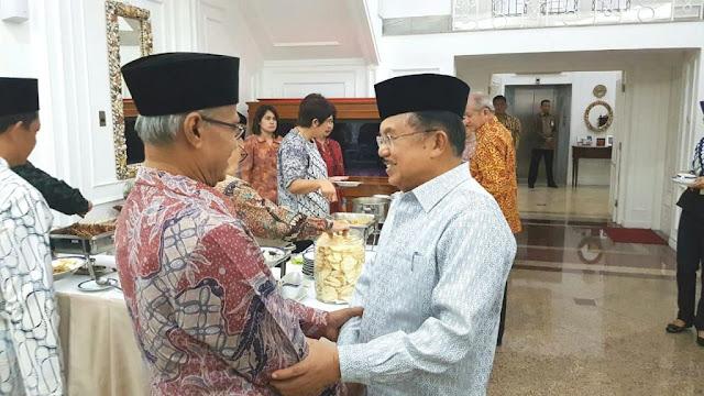 Bertemu JK, Haedar Pertegas Sikap Muhammadiyah Terkait Pembakaran Bendera di Garut