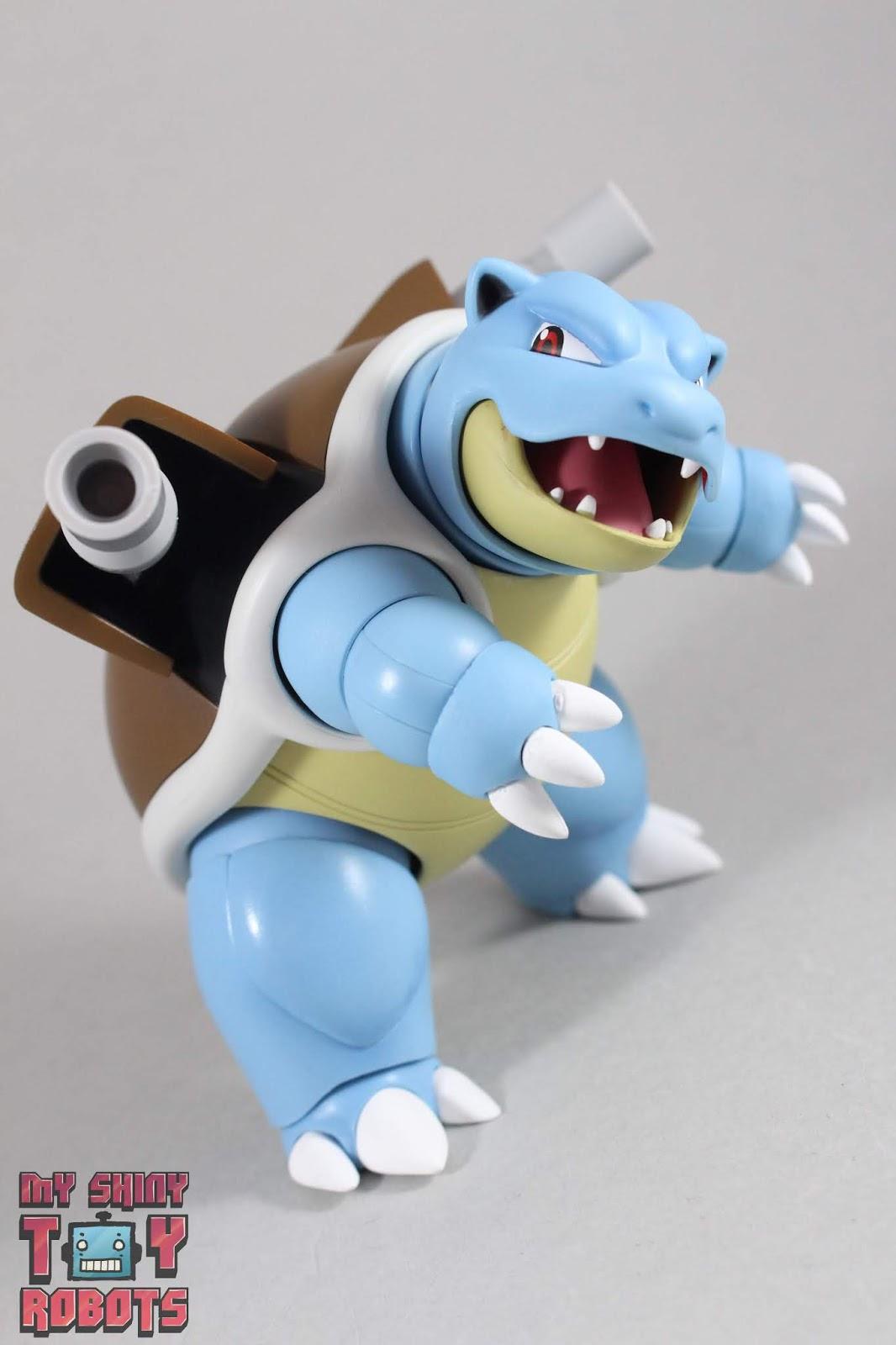 Figuarts Pokemon Blastoise Arts Remix Bandai S.H