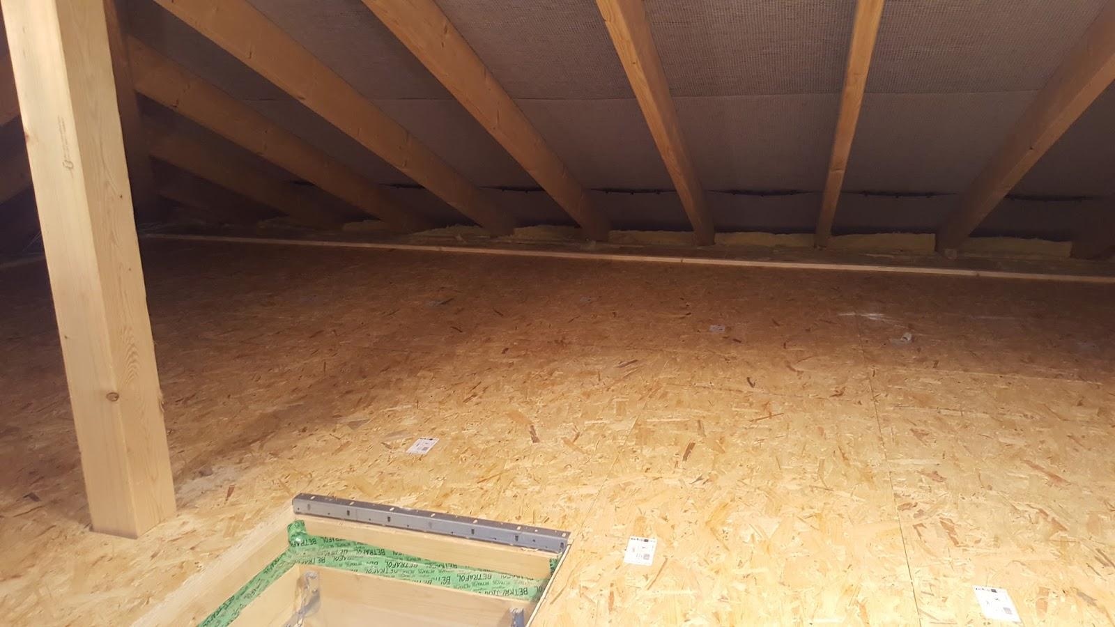 Massivhaus Rhein Lahn baublog wir bauen in neesbach ausbau des dachbodens