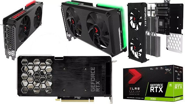 PNY-GeForce-RTX-3060-12GB-XLR8-Gaming-REVEL-Epic-X-RGB-Dual-Fan-Edition-Top-Front-Side-Back-BOX-IO-View