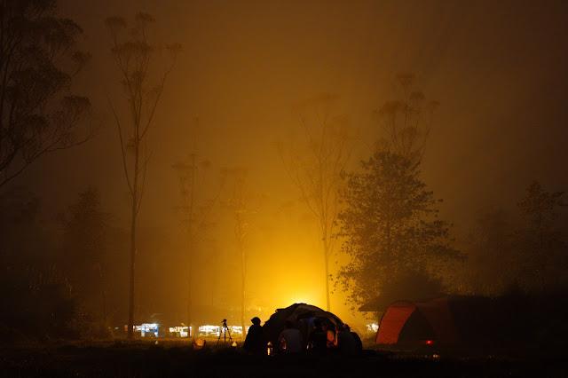Night Camping at Vikarabad Hill Stations