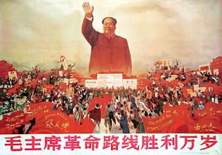 Poster pemimpin komunis Cina, Mao