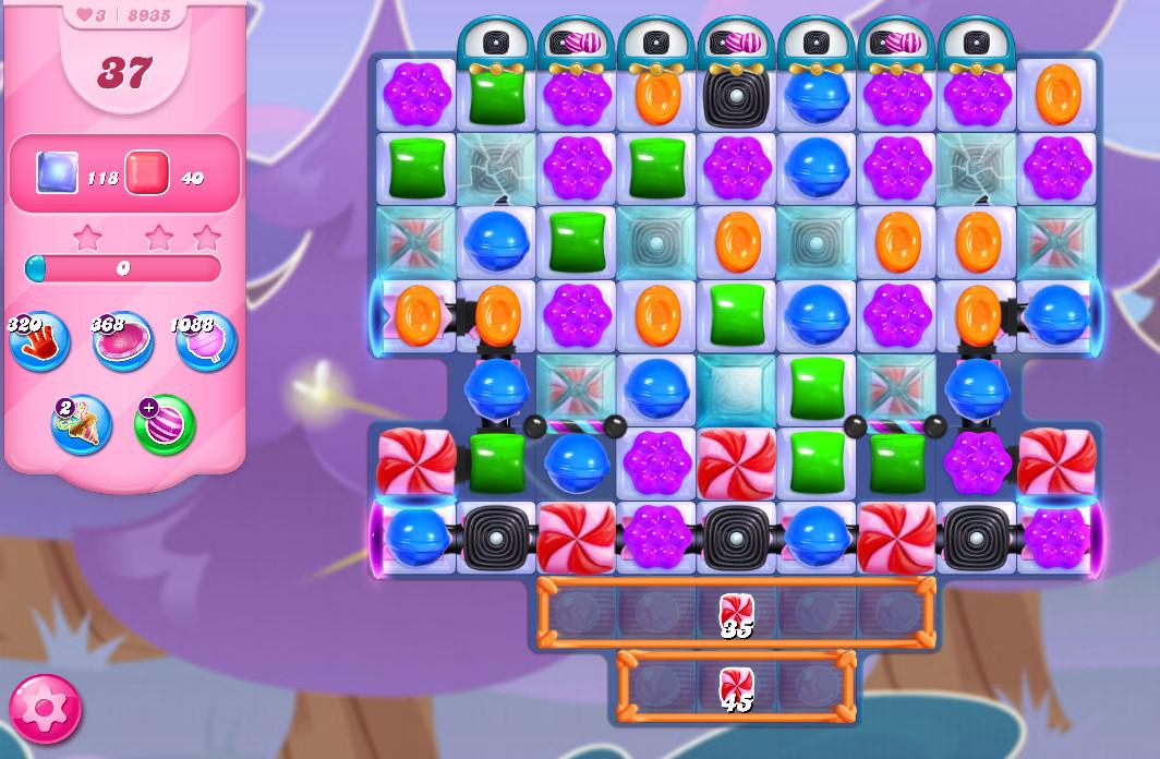 Candy Crush Saga level 8935