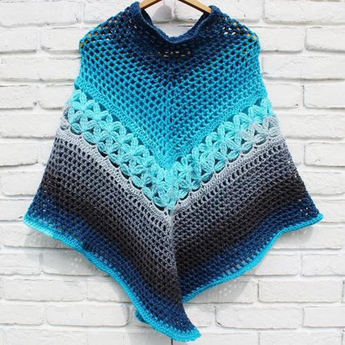 Crochet Poncho - Free Pattern