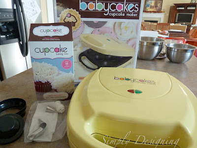 cupcakes+02 babycakes Cupcake Maker and Red Velvet Cupcakes 12